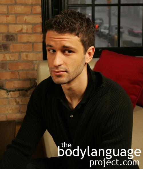 Body language forehead